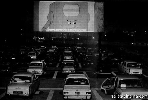 Cinéma Drive-in à Rungis