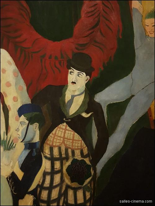 Les fresques d'Henri Mahé au Grand Rex