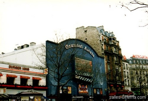 Cinéma Gaumont Alésia à Paris