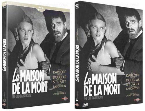 La Maison de la mort en Blu-ray & DVD chez Carlotta.