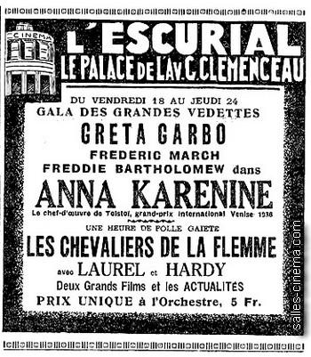 Anna Karenine avec Greta Garbo