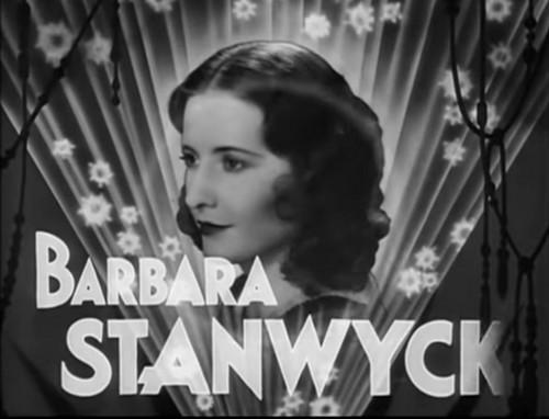 Baby face de Alfred E. Green avec Barbara Stanwyck