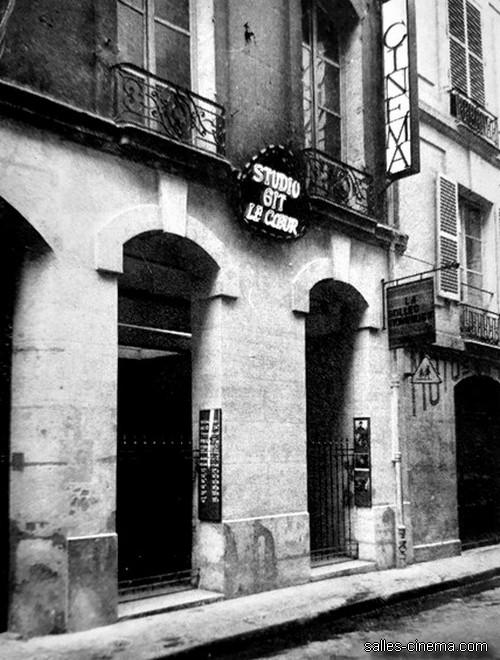 Cinéma Studio Gît-le-Coeur à Paris