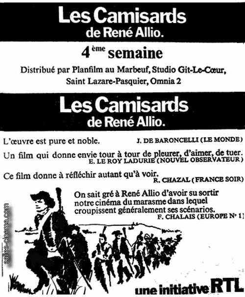 Les Camisards de René Allio
