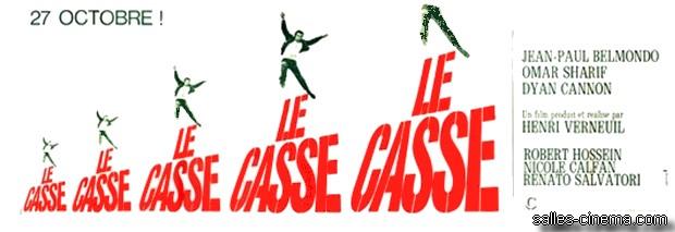 Le Casse d'Henri Verneuil avec Jean-Paul Belmondo